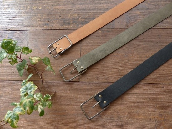 Veritecoeur(ヴェリテクール) PUEBLO LEATHER BELT(VCZ-27)