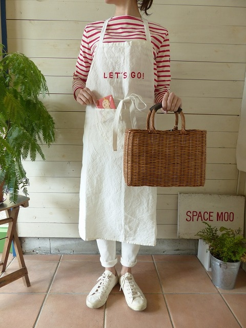 「HELLO」 or「 LET`S GO」 APRON