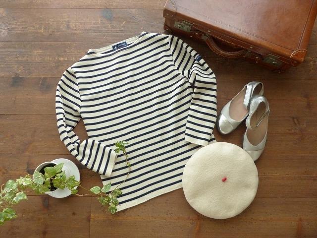 商品「SAINT JAMES(セントジェームス) ラグランウールウエッソンセーター ECR/MAR」の商品画像