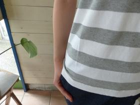 商品「LAITERIE(レイトリー) しましまの天竺フレンチプルオーバー」の商品画像