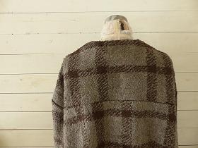 商品「maomade(マオメイド) チェックボアコーディガン」の商品画像