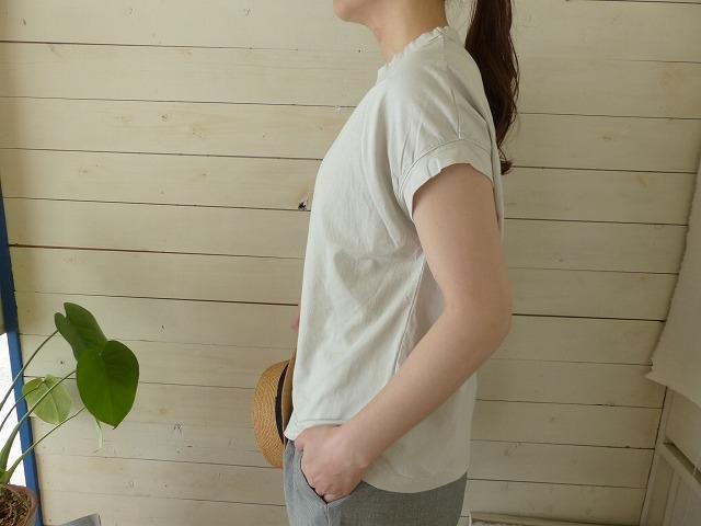 商品「RINEN(リネン) 天竺フレンチスリーブT」の商品画像