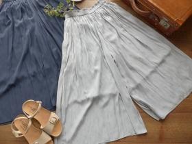 商品「yangany(ヤンガニー) ギャザーマキシスカンツ」の商品画像