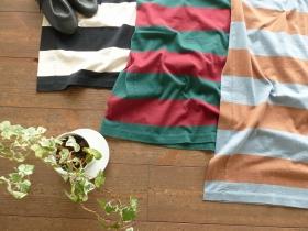 商品「homspun(ホームスパン) 天竺太ボーダーノースリーブワンピース」の商品画像