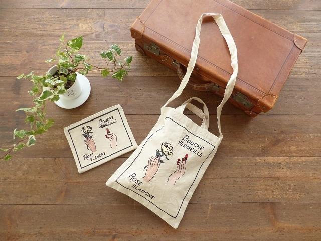 商品「casselini(キャセリーニ) イラスト刺繍トートBAG」の商品画像