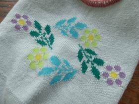 商品「Hoffmann(ホフマン) コットン蚤の市花柄カバーソックス」の商品画像