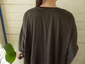 商品「mizuiro-ind(ミズイロインド) クルーネックワイドチュニック」の商品画像