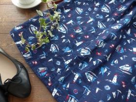商品「PK マリンプリントウエストゴムスカート」の商品画像