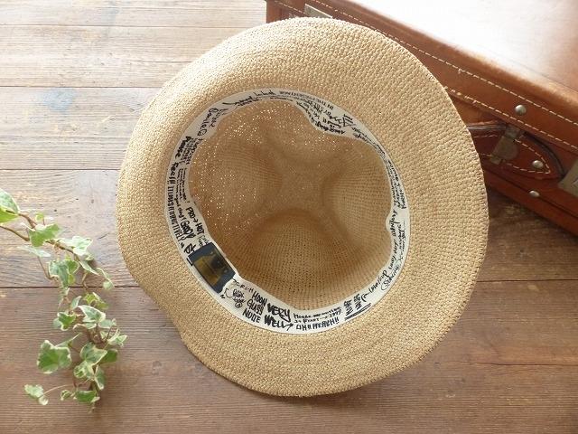 商品「RAFFIA TRAVEL MT. HAT」の商品画像