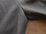 商品「STAMP AND DIARY(スタンプアンドダイアリー) リネンウエストタックワイドパンツ 91cm丈」の商品画像
