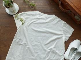 商品「tumugu(ツムグ) ハイゲージ天竺オムレツT」の商品画像