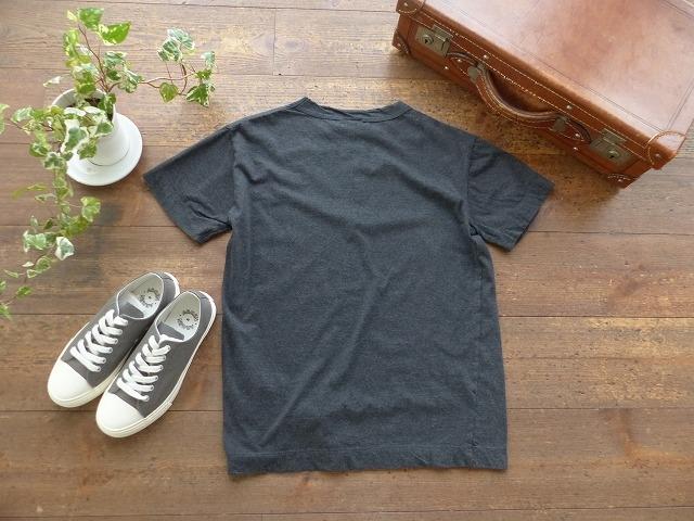 商品「homspun(ホームスパン) 天竺半袖T XL XXLサイズ (3)ダークチャコール」の商品画像
