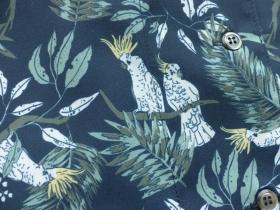 商品「CHILD WOMAN(チャイルドウーマン) オウムプリント 開襟ブラウス」の商品画像