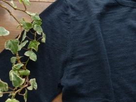 商品「MACPHEE(マカフィー) PLAIN LINENクルーネック長袖カーディガン」の商品画像