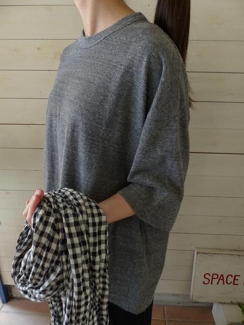 商品「homspun(ホームスパン) 天竺BIG Tシャツ」の商品画像