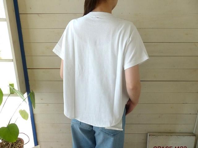 商品「clip.tab(クリップタブ) パネル半袖Tシャツ」の商品画像