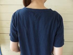 商品「NATURAL LAUNDRY(ナチュラルランドリー) バーフィルA.T Tシャツ」の商品画像