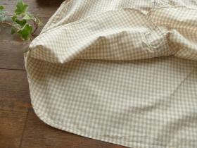 商品「NATURAL LAUNDRY(ナチュラルランドリー) ブロックチェックピローシャツ」の商品画像