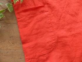 商品「NATURAL LAUNDRY(ナチュラルランドリー) 先染リネン半袖ファーマーシャツ」の商品画像