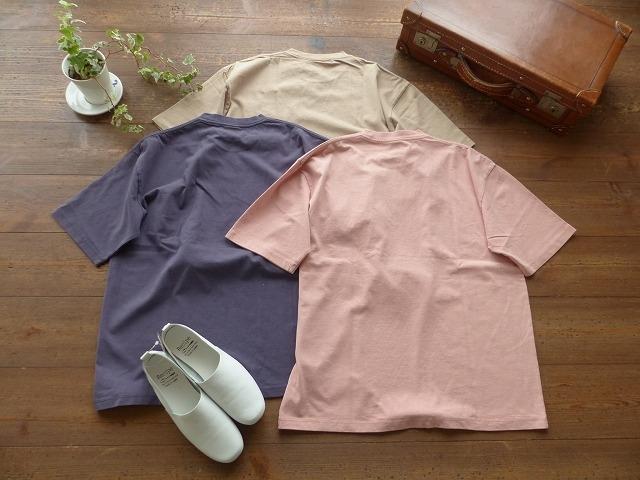 商品「SOUFFLE USコットン顔料染めポケットTシャツ」の商品画像
