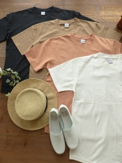 商品「SOUFFLE USコットン反応染めポケットTシャツ」の商品画像