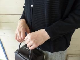 商品「maomade(マオメイド) ハイツイストコットンワイドカーディガン」の商品画像