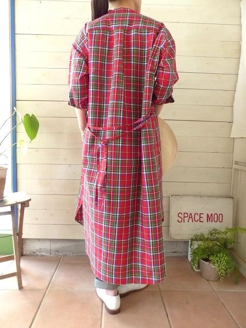 商品「R&D.M(オールドマンズテーラー) S/R STAND COLLAR LONG SHIRT」の商品画像