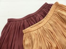 商品「dolly-sean(ドリーシーン) マイクロテシンロングギャザースカート」の商品画像