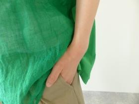 商品「R&D.M(オールドマンズテーラー) G/D LINEN GAUZE PULL OVER SHIRT」の商品画像