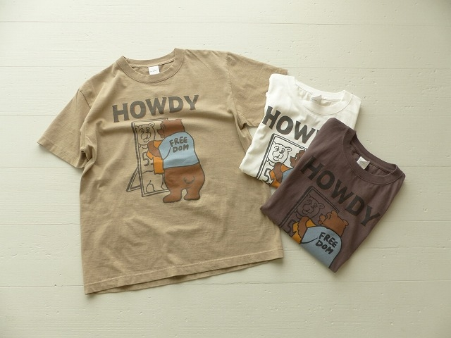 商品「SOUFFLE HOWDYベアープリントT」の商品画像