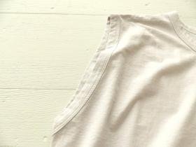 商品「TRAVAIL MANUEL(トラバイユマニュアル) 強撚クール天竺ルーズタンクトップ」の商品画像