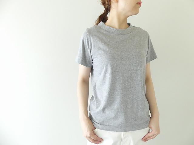 天竺半袖Tシャツ (2)TOPグレー