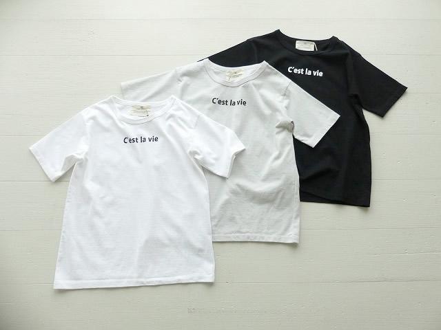 ロゴTシャツ C'est la vie