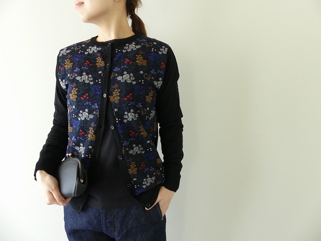 DREAM GARDEN SOCK KNIT CARDIGAN