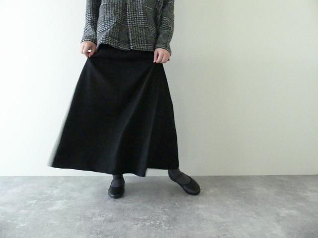 ウールサイドフレアスカート