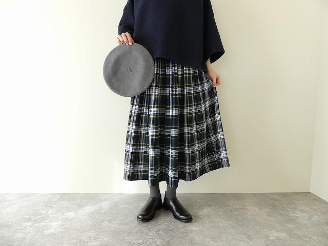 ドレスゴードンのタータンスカート