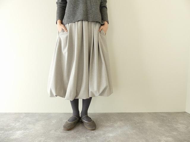 ウールバルーンスカート