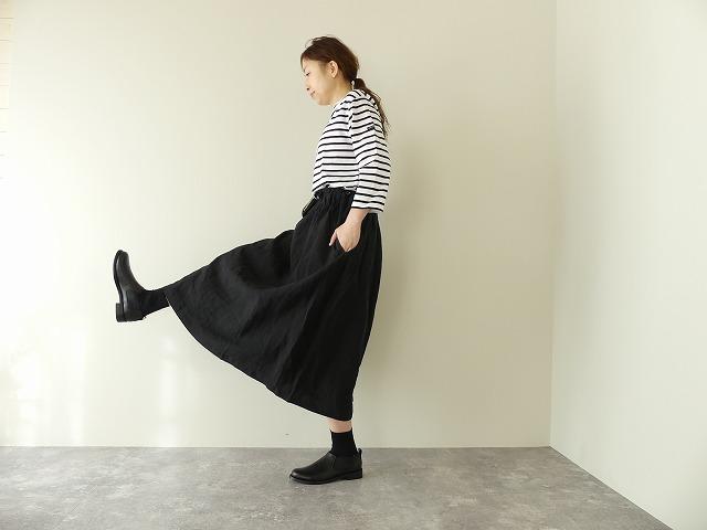ウエストゴムタックギャザースカート
