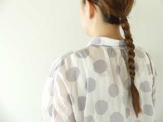 80ローン塩縮ドルマンスリーブシャツの商品画像15