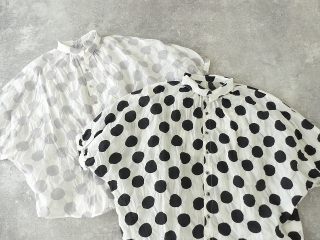 80ローン塩縮ドルマンスリーブシャツの商品画像18