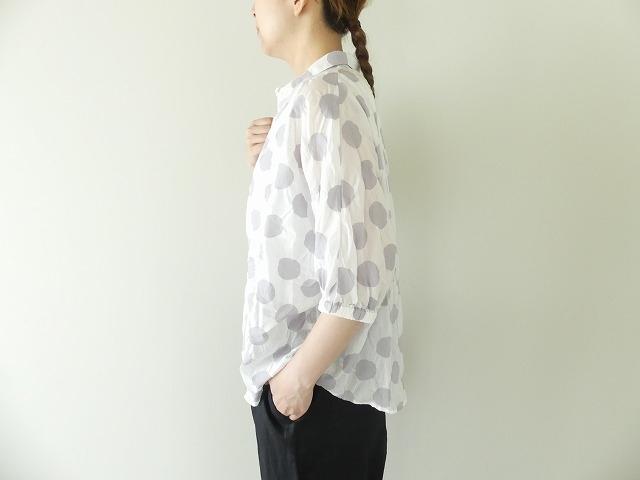 80ローン塩縮ドルマンスリーブシャツの商品画像2