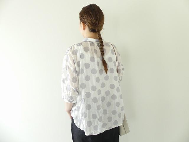 80ローン塩縮ドルマンスリーブシャツの商品画像4