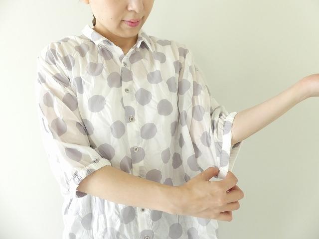 80ローン塩縮ドルマンスリーブシャツの商品画像6