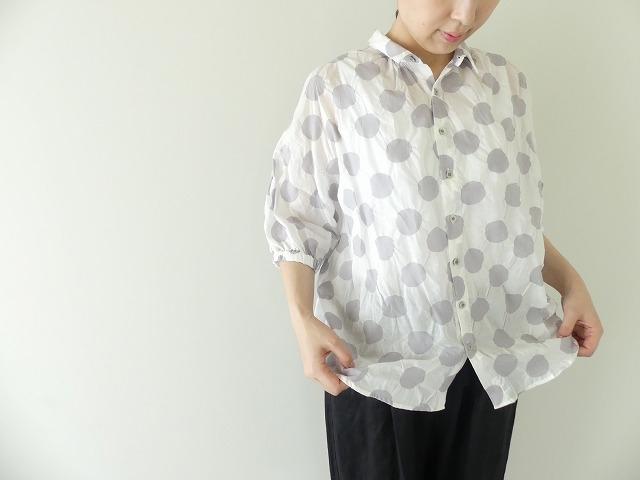 80ローン塩縮ドルマンスリーブシャツの商品画像7