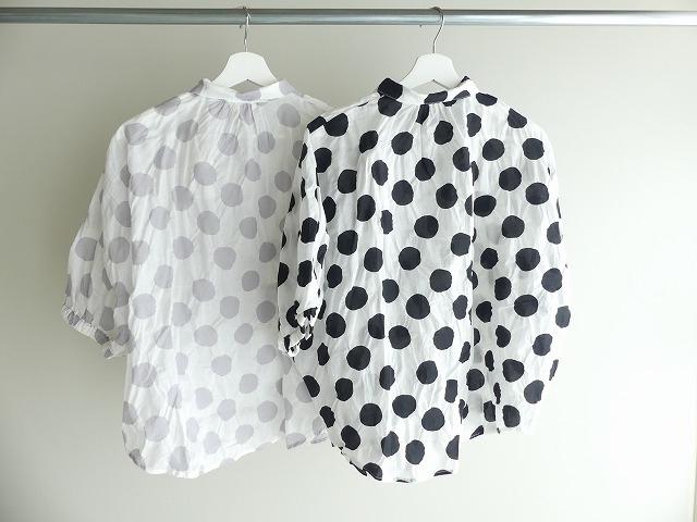 80ローン塩縮ドルマンスリーブシャツの商品画像8