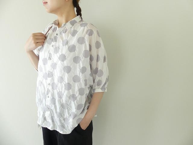 80ローン塩縮ドルマンスリーブシャツの商品画像1