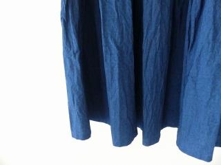 インディゴシャンブレーティアードスカートの商品画像17