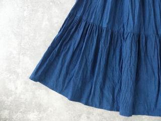 インディゴシャンブレーティアードスカートの商品画像19