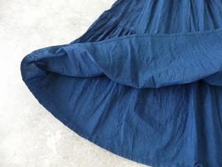 インディゴシャンブレーティアードスカートの商品画像20