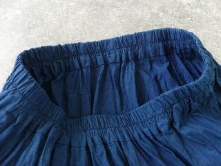 インディゴシャンブレーティアードスカートの商品画像21